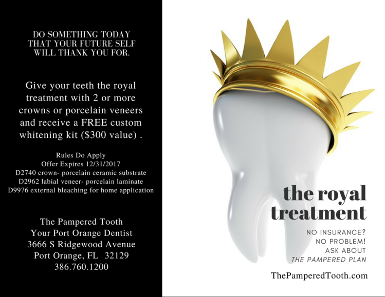 The Royal Treatment at The Pampered Tooth